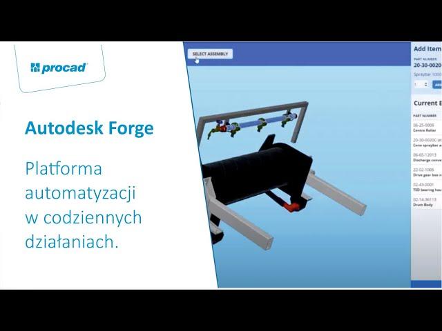 Autodesk Forge – platforma automatyzacji w codziennych działaniach
