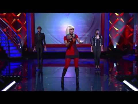 Nicki Minaj ,HD,  Right Thru Me ,Live on Regis and Kelly , 2010,HD 720p