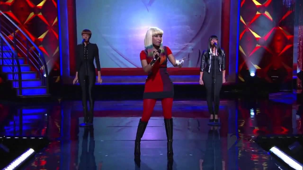 Download Nicki Minaj ,HD,  Right Thru Me ,Live on Regis and Kelly , 2010,HD 720p