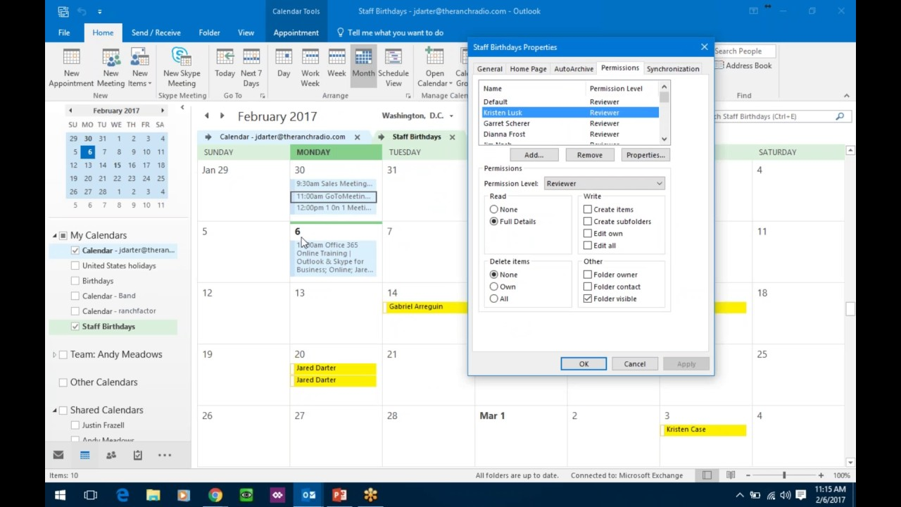Office 365 - Outlook Signature & Skype for Business
