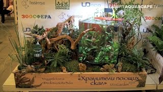 """MiniGarden Aqua design contest 2015 - 2nd place """"Keepers of singing rocks"""""""
