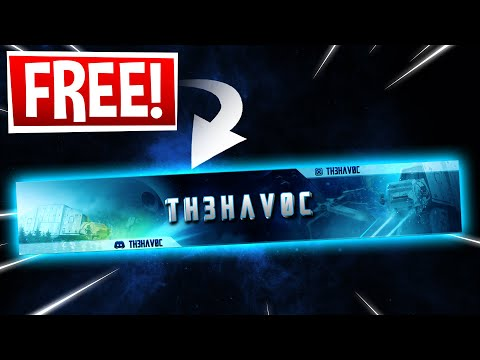 How To Make A YouTube Banner WITHOUT Photoshop 2020! - Make A Banner For YouTube Channel For FREE