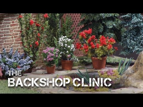 TrainMasters TV preview - The Backshop Clinic: Gardening with Wendy