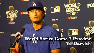 Yu Darvish Talks About His Slider And Gamy 7 | Los Angeles Times