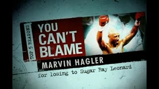 Top 5 Reasons You Can't Blame Marvin Hagler
