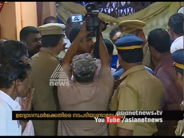 Man accused of theft found hanging inside Vandur police station   FIR 11 Sep 2016