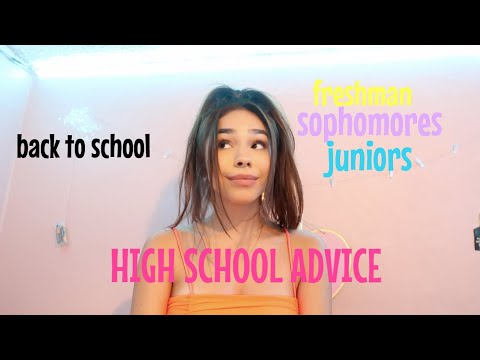 highschool advice 2019 (if you are entering high school watch this)
