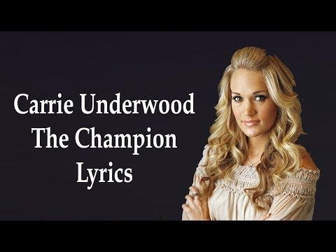 Carrie Underwood - The Champion (Karaoke Version) Ⓜ️ ft. Ludacris