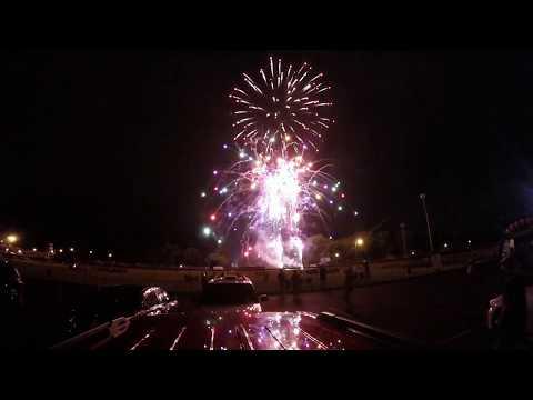City of Whitehall Ohio Fireworks - July 3, 2017