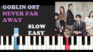 Video Goblin Ost - Opening Theme (SLOW EASY PIANO TUTORIAL) download MP3, 3GP, MP4, WEBM, AVI, FLV Januari 2018