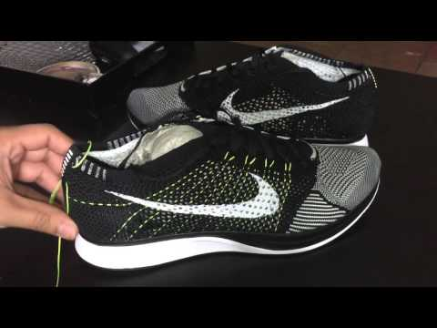 873979108ee2e Flyknit Racer Black-White Volt removal...tempting   Sneakers