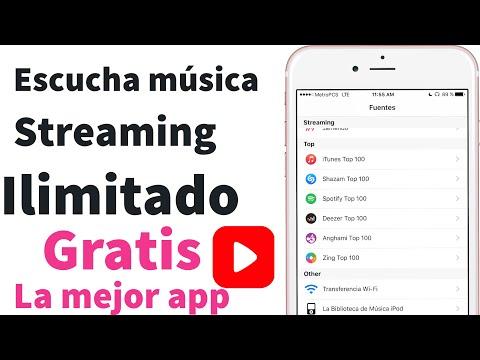 La mejor aplicación para escuchar música en streaming gratis música ilimitada