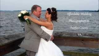 Affordable Wedding Photographers in Fairfax County VA Alexandria Burke DJs Photography