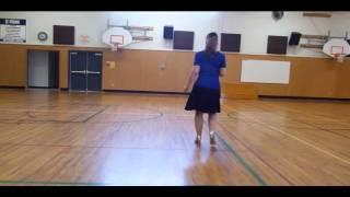 Exactly Like You Foxtrot - line dance demo - beginner Foxtrot - choreo Tripp
