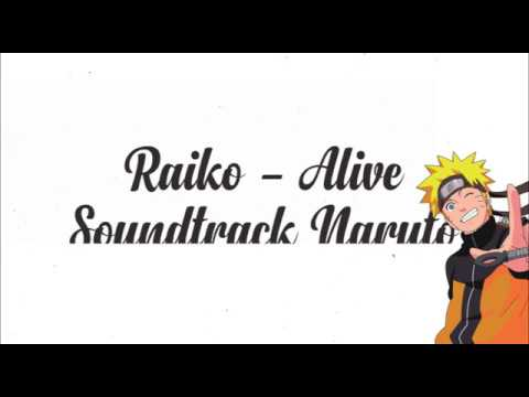 gallery music karaoke raiko - alive soundtrack anime naruto