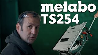 Metabo Ts254 Site Saw - A Toolstop In-depth Review