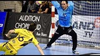 Oleg Grams, 42% against PSG Handball 23.02.2018