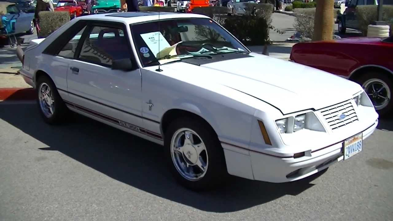 1984 Ford Mustang GT 350 20th Anniversary edition Fox Body Mustang