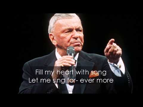 FLY ME TO THE MOON by: Frank Sinatra with lyrics