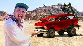 Купили на аукционе автомобиль за 90 тысяч а он оказался в пустыне