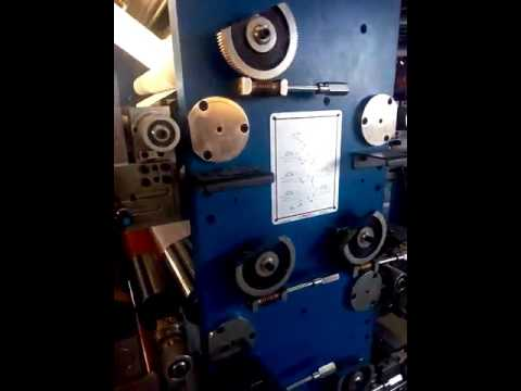 Automatic Reel To Sheet Ruling/ Flexo Printing Machine