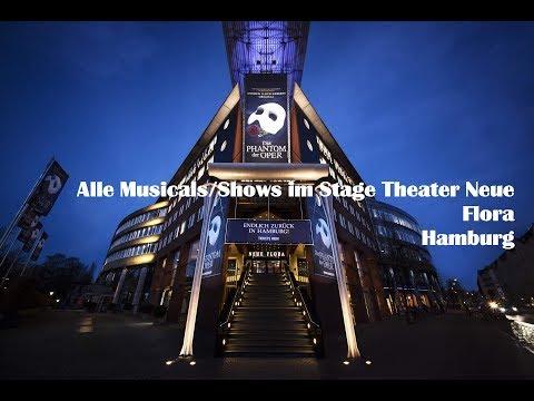 Alle Musicals/Shows im Stage Theater Neue Flora Hamburg