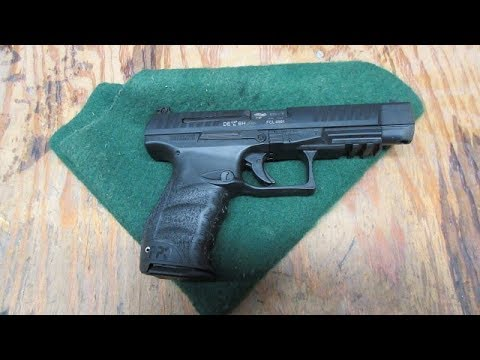 Walther PPQ M2 5 inch at the range