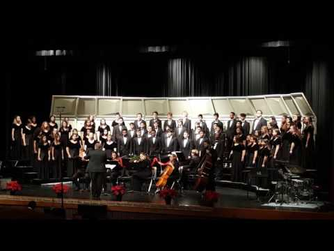Glow by Eric Whitacre - Langham Creek HS A Cappella Choir