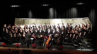 glow by eric whitacre langham creek hs a cappella choir