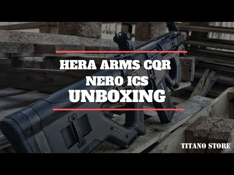 HERA ARMS CQR NERO ICS [UNBOXING E TEST]