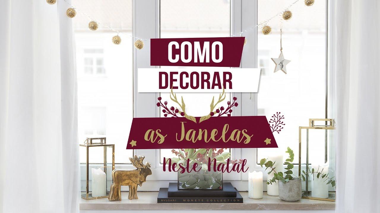 Armario Sala Jantar ~ Ideias para decorar as janelas neste Natal WESTWING YouTube