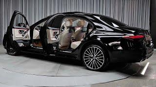2021 Mercedes S-Class - Exterior and interior Details (Detailed Super Luxury Sedan)