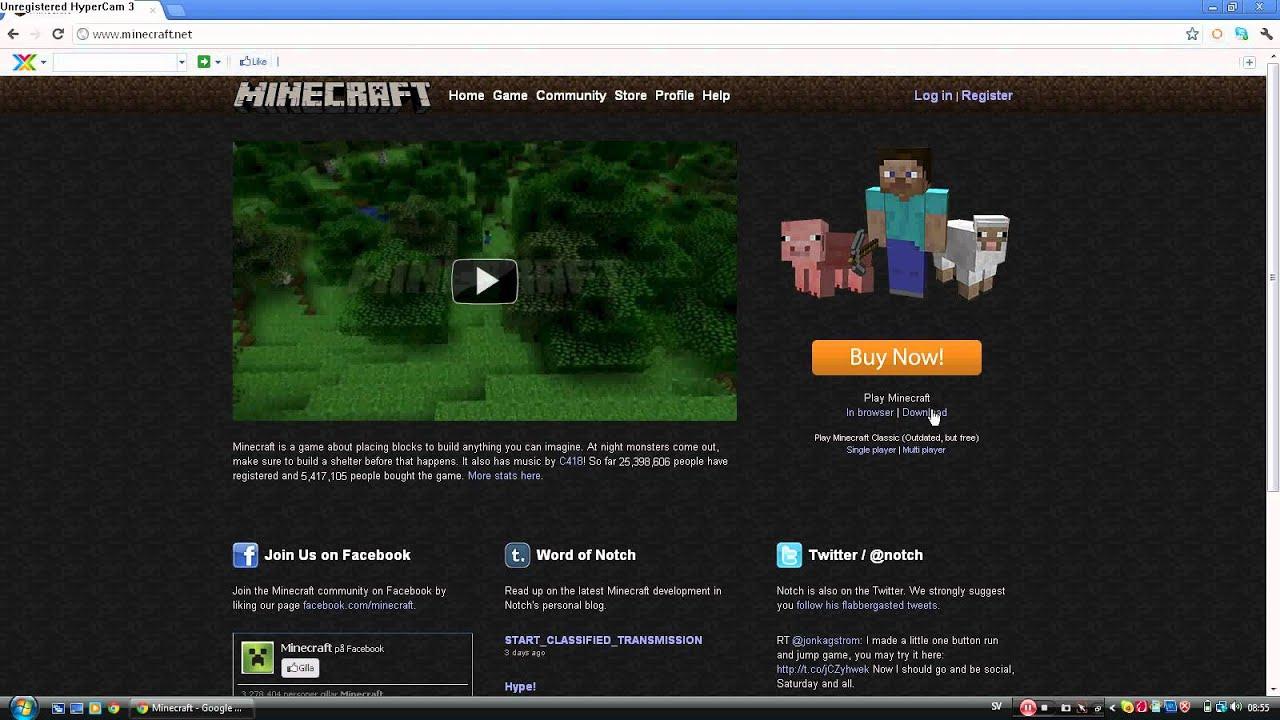 minecraft gratis ladda ner pe