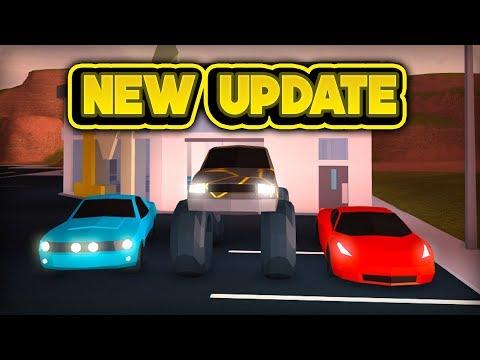 NEW MONSTER TRUCK, FERRARI, & MUSTANG! (ROBLOX Jailbreak)