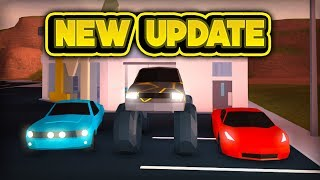 new monster truck ferrari mustang roblox jailbreak