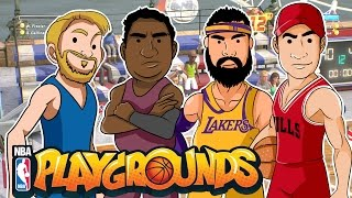 Torneo de Humildes Alka vs Wero | NBA PLAYGROUNDS |