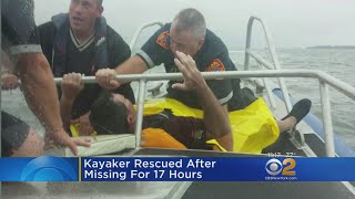 Kayaker Rescued After 17 Hours Missing