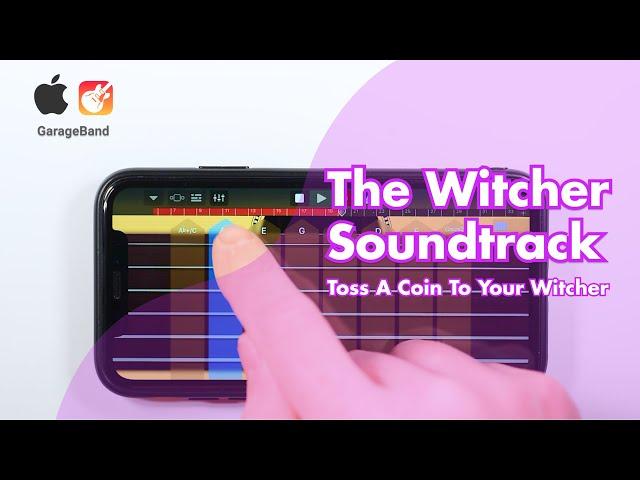 Toss A Coin To Your Witcher - on Iphone XR (GarageBand) | Ведьмаку заплатите чеканной монетой кавер