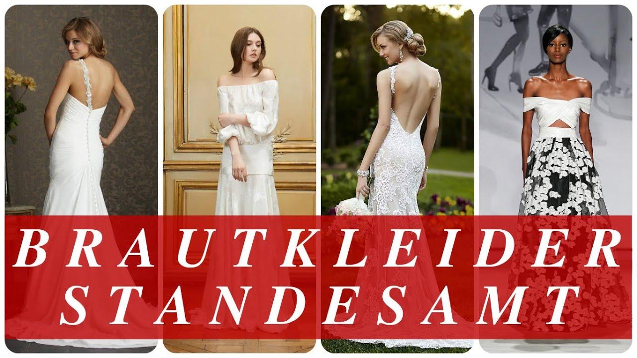 Brautkleider standesamt - YouTube