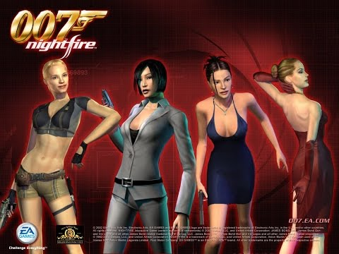 James Bond 007 NightFire Full Game Movie All Cutscenes