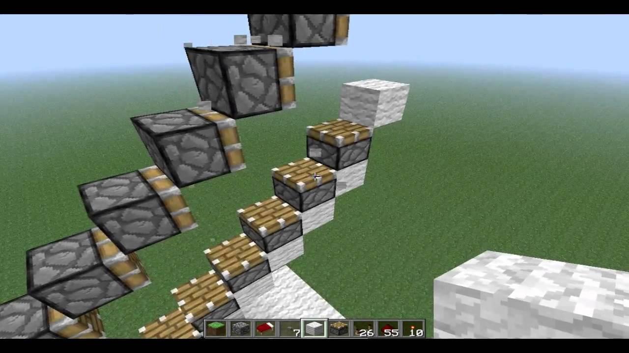 Minecraft Ruchome Schody Link W Opisie Do Wersji 1 13 Youtube