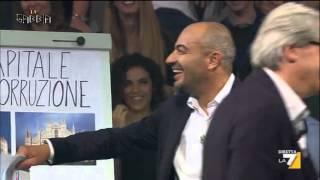 La gabbia - Roma - Milano, il crollo (Puntata 14/10/2015)