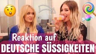 Her REACTION - first time german candy with ZARA LARSSON 😧 | BibisBeautyPalace