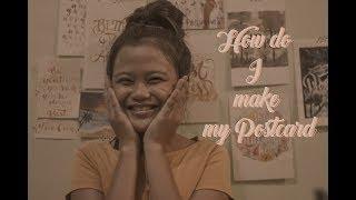 ''Nasıl yaparım oluşturmak kartpostal'' (Mary rizza avucunu yalar Bacsal)