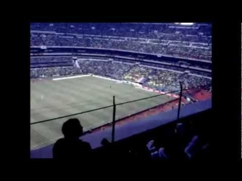 México Vs Guyana - El Saludo en el Estadio Azteca