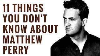 Matthew Perry Facts | Interesting Facts About Matthew Perry | Chandler Bing Facts