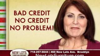 New Lots Furniture Store Credit Holiday Sale