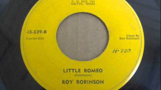 Roy Robinson - Little Romeo (1956)