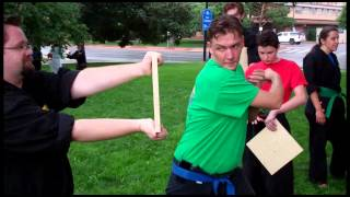 Board & Brick Breaking!!! Boulder Karate 2014