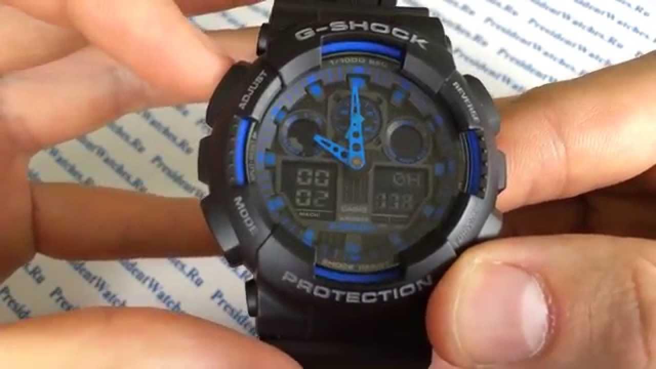 Casio G-Shock Ga-100. Офигенные Копии!) [Часы Casio G Shock .